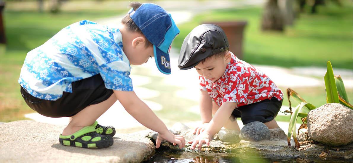 jeux aux bords de l'eau