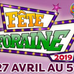 Fête foraine 2019