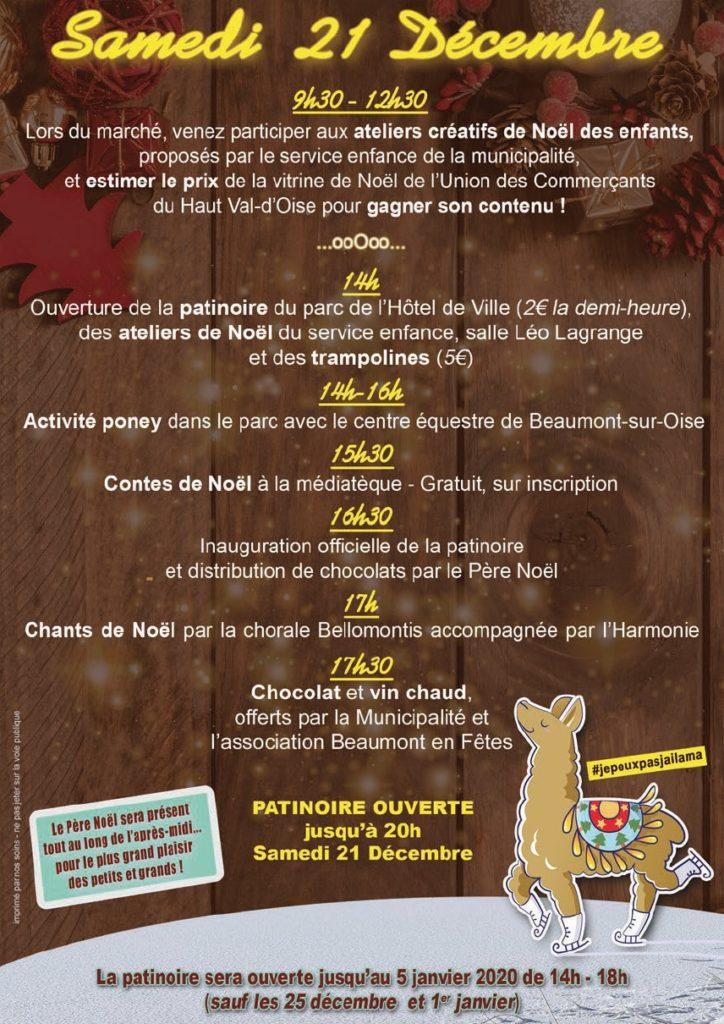 Les Animations De Noël Beaumont Sur Oise