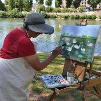 peintres dans les rues